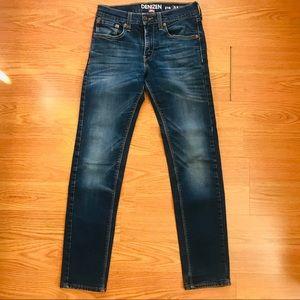 Levi's Denzien dark wash jeans